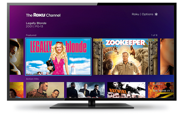 New Roku Channel Offers Free Movies