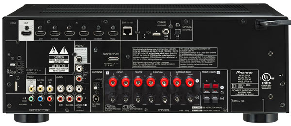 pioneer elite vsx 42 a v receiver sound vision rh soundandvision com pioneer elite vsx 32 manual Pioneer VSX 42 Elite Receiver