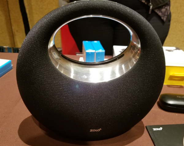 Zolo Model Zero Powered by Anker Links Google Home with Dolby Sound