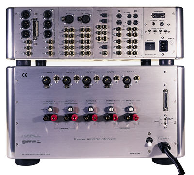 Krell Home Theater Standard 2 Theater Amplifier Standard Pre Pro And 5 Channel Amp Page 2