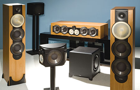 Paradigm Monitor Series v 5 Speaker System | Sound & Vision