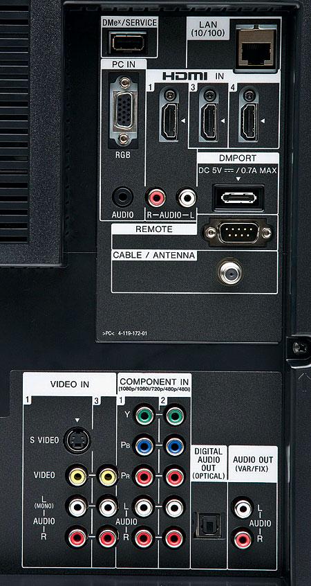 Sony BRAVIA KDL-46XBR8 LCD HDTV | Sound & Vision