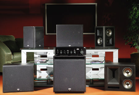 klipsch thx ultra2 speaker system sound vision. Black Bedroom Furniture Sets. Home Design Ideas