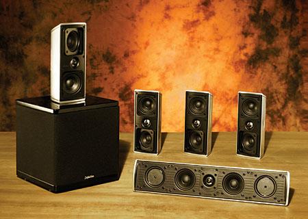 Definitive Technology Mythos Gem Speaker System Sound