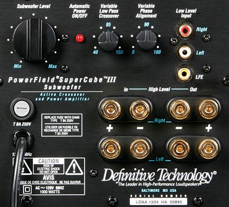definitive supercube. at a glance: definitive technology mythos gem speaker system supercube