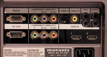 Marantz VP-15S1 DLP Video Projector   Sound & Vision
