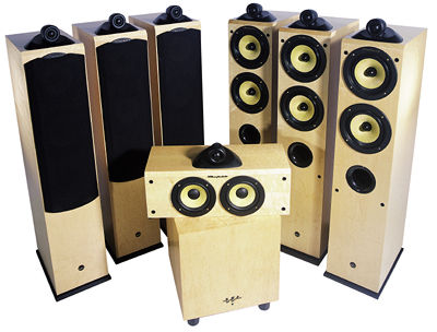 wharfedale pacific surround speaker system sound vision. Black Bedroom Furniture Sets. Home Design Ideas