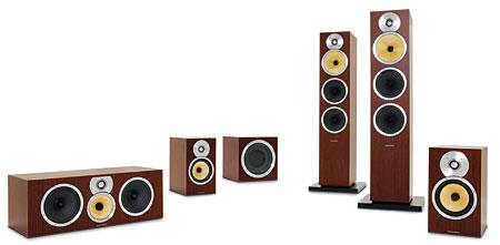 b w cm9 speaker system sound vision. Black Bedroom Furniture Sets. Home Design Ideas