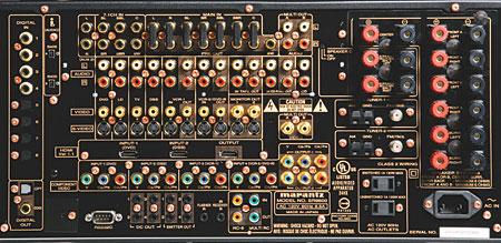 Snell D7 Speaker System Marantz Sr9600 A V Receiver And