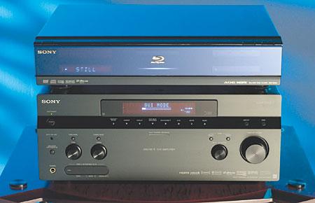 Sony STR-DA4300ES A/V Receiver and BDP-S500 Blu-ray Player | Sound