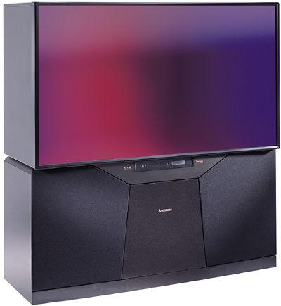Mitsubishi Ws 65909 High Definition Rptv Sound Amp Vision