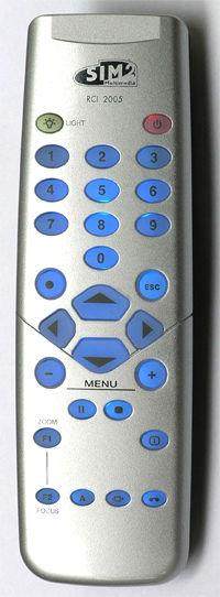 SIM2 Remote Control RCI2005 for SIM2 Projector