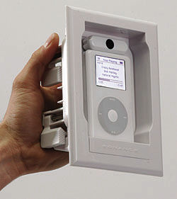 Sonance Iport In Wall Docking System For Ipod Sound Amp Vision
