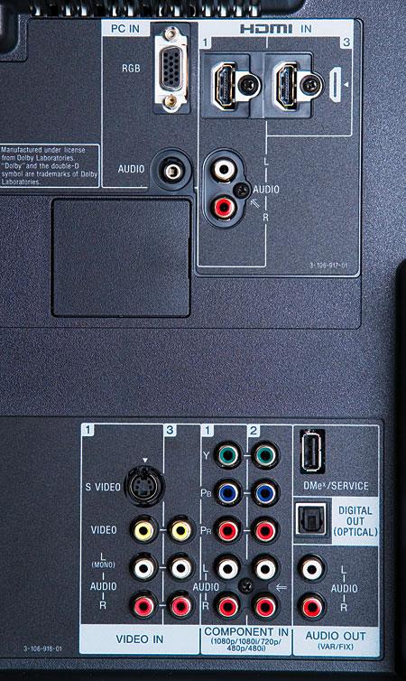 Sony BRAVIA KDL-52XBR4 LCD HDTV | Sound & Vision