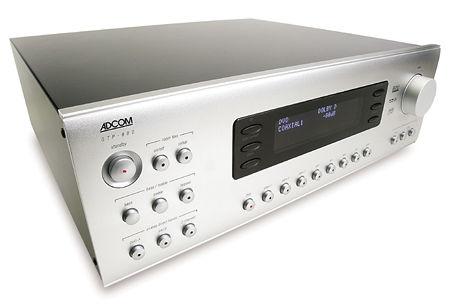 adcom gtp 880 preamp processor gfa 7607 multichannel power rh soundandvision com