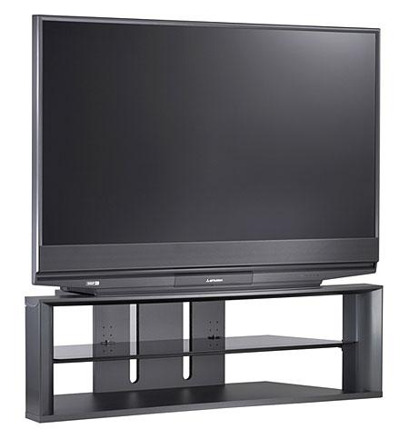 mitsubishi wd 57731 dlp rear projection tv sound vision. Black Bedroom Furniture Sets. Home Design Ideas