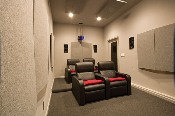 Pictures Of Home Theater Rooms: All Work And All Play