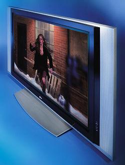 LG Electronics 42LP1D LCD HDTV and 42PX4D Plasma HDTV | Sound & Vision