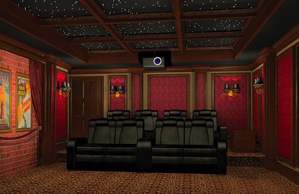 Garage Home Theater Part I Sound, Garage Home Theater
