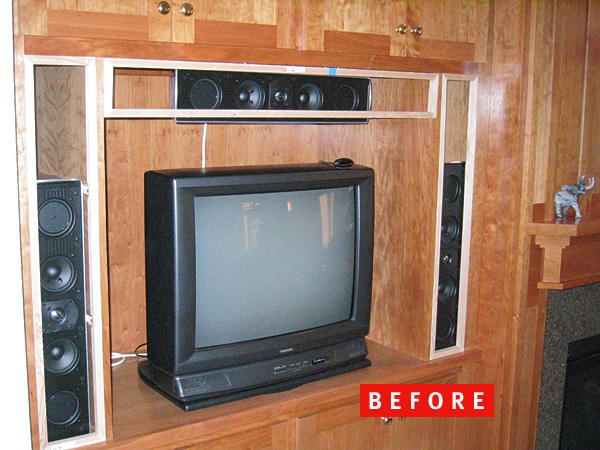 Diy reader home theater fearless ingenuity sound vision Home tv channel