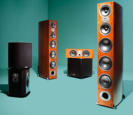 Polk Rti A9 Speaker System Sound Amp Vision