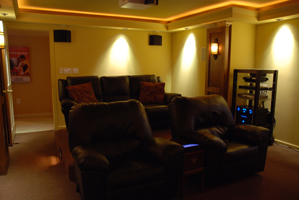 Basement diy theater sound vision - Diy home theater design ...