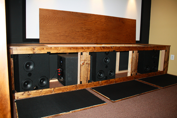 Basement DIY Theater | Sound & Vision