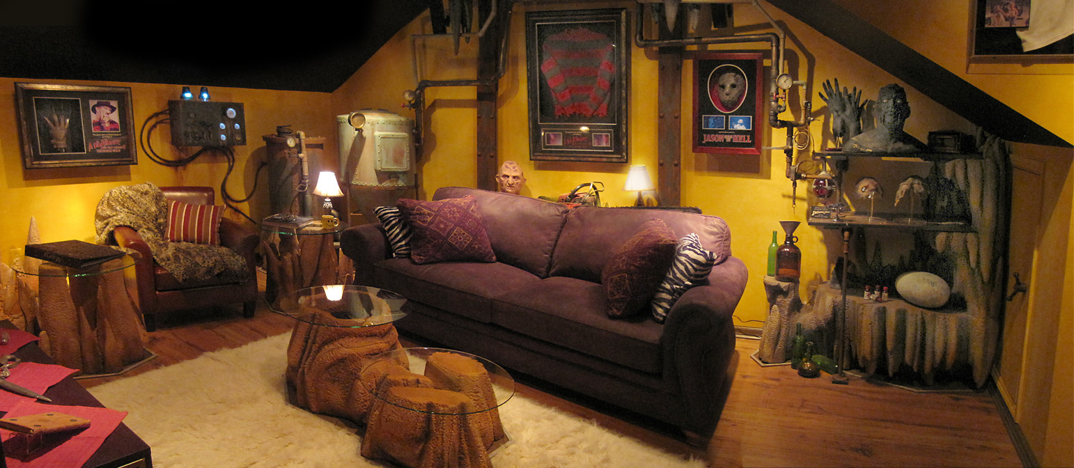 How To Get On Man Cave Tv Show : The man cave horror theater sound vision
