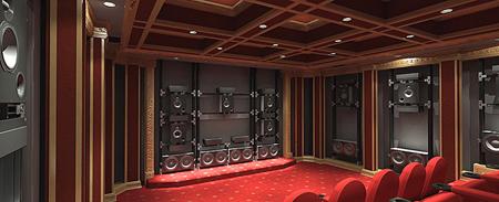Million Dollar Media Room Sound Amp Vision
