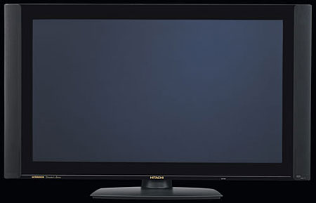 hitachi 42hdx99 flat panel first look sound vision rh soundandvision com Hitachi Plasma TV Hitachi 55 Plasma HDTV