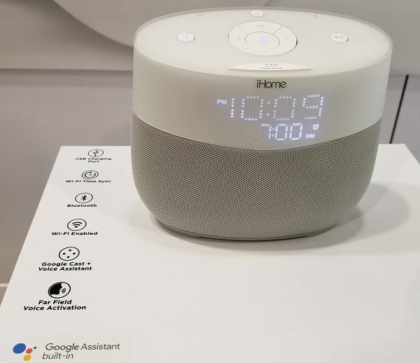 iHome Takes Google to Bed with the iGV1 Bedside Clock