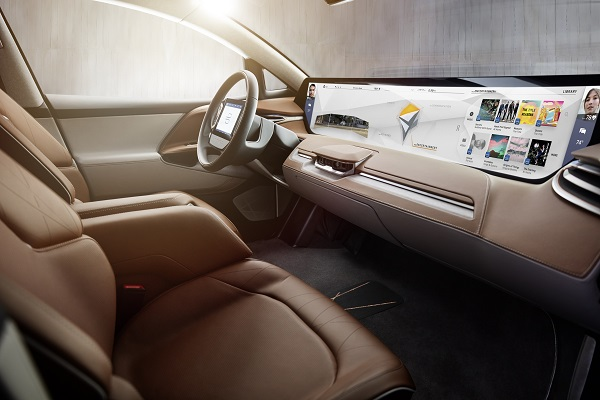 Startup Carmaker Byton Puts a Widescreen in its Dash