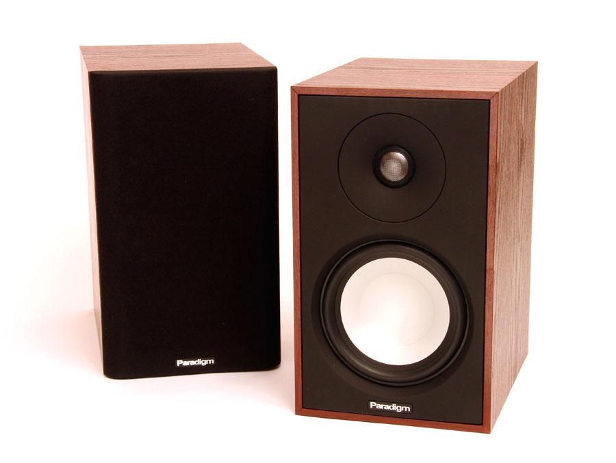 Paradigm Atom Monitor 7 Bookshelf Speaker Sound Amp Vision