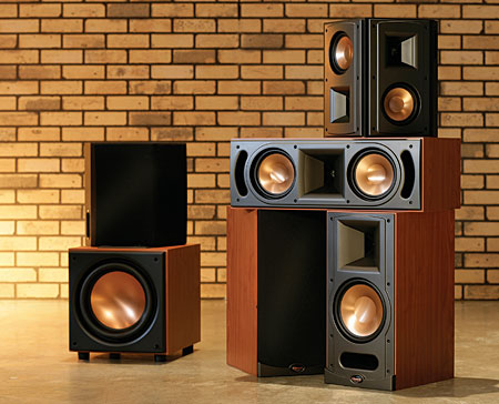 klipsch rb 81 speaker system sound vision. Black Bedroom Furniture Sets. Home Design Ideas
