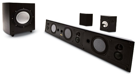 phase technology teatro pc 3 0 l c r speaker system. Black Bedroom Furniture Sets. Home Design Ideas
