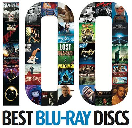 100 Best Blu Ray Discs Sound Amp Vision