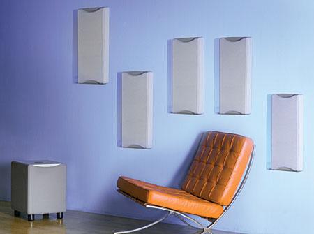 Angstrom Suono Sonata 200 On Wall Speaker System Sound