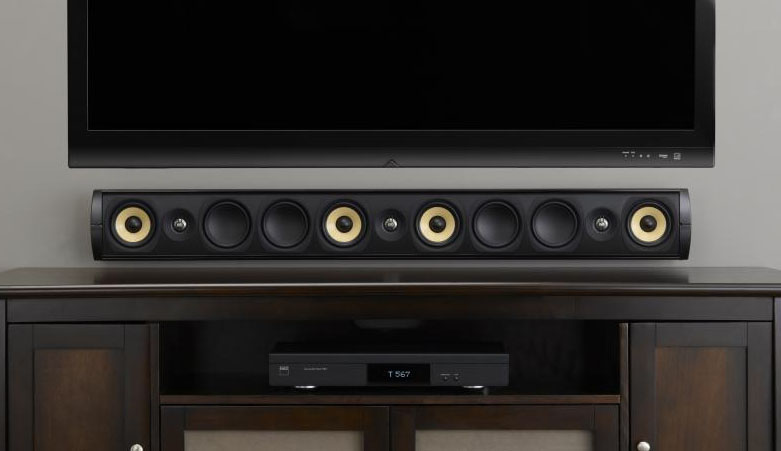 Review Psb Imagine W3 Soundbar And W1 On Wall Speaker