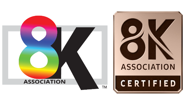 8K Association Certified Program for 8K TVs released by 8K Association, Samsung