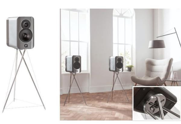 Q Acoustics Unveils Stylish New Speaker