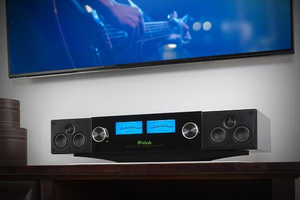 McIntosh Unveils High-End Wireless Speaker System