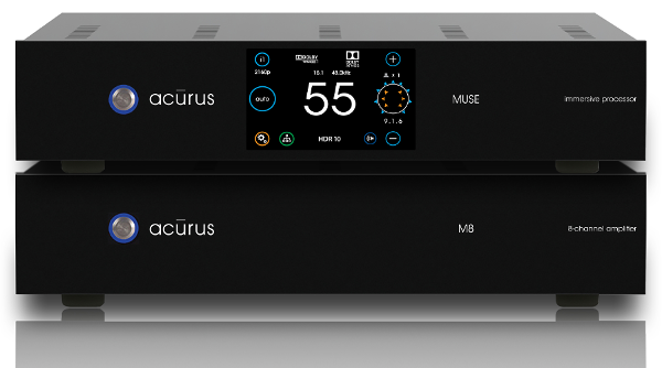 Acurus Unveils 16-Channel Surround Processor and Companion Amp