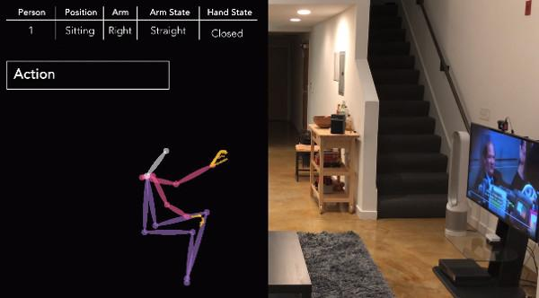 Smart Camera Translates Gestures into Commands