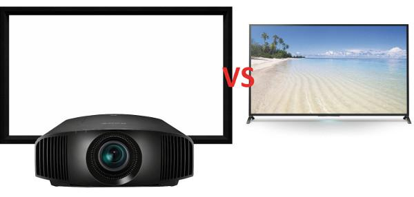 The Big Screen Debate: Direct-View TV Vs  Projection | Sound