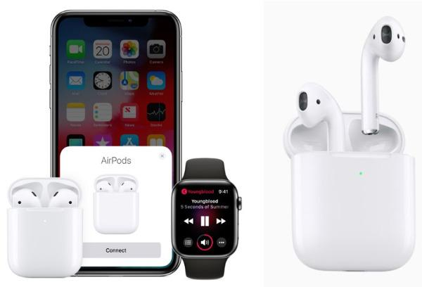 Apple's Airpod Wireless Earphones Get a Makeover