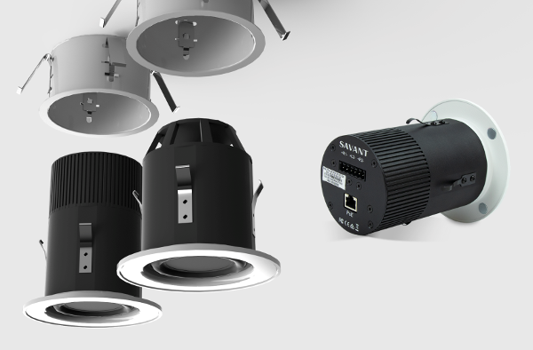 Savant's New Self-Powered Network Speakers Mount in Ceiling