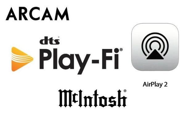 McIntosh and Arcam Get AirPlay 2 Via DTS Play-Fi