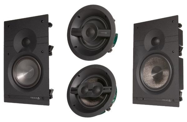 Triad Covers the Bases with In-Wall/Ceiling Speakers