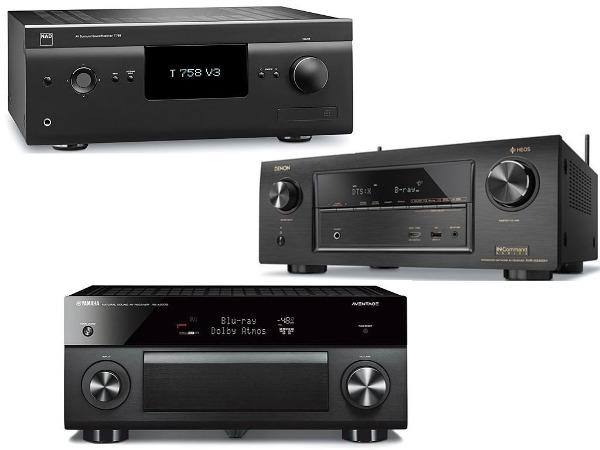 Best Av Receivers Of 2018 Sound Vision