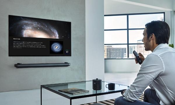 LG Adds Alexa Voice Control to 2019 TVs